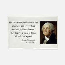 George Washington 13 Rectangle Magnet