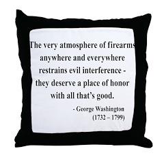 George Washington 13 Throw Pillow