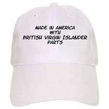 British Virgin Islander Parts Baseball Cap