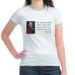 Benjamin Franklin 1 Jr. Ringer T-Shirt