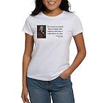Benjamin Franklin 1 Women's T-Shirt