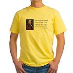 Benjamin Franklin 1 Yellow T-Shirt