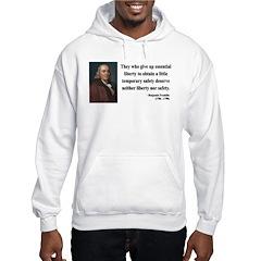 Benjamin Franklin 1 Hoodie