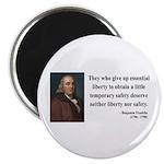 Benjamin Franklin 1 Magnet