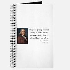 Benjamin Franklin 1 Journal