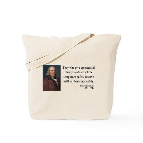 Benjamin Franklin 1 Tote Bag