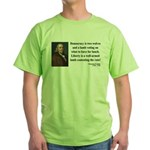 Benjamin Franklin 2 Green T-Shirt