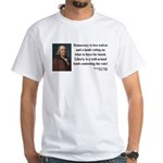 Benjamin Franklin 2 White T-Shirt