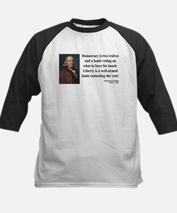 Benjamin Franklin 2 Kids Baseball Jersey