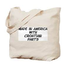 Croatian Parts Tote Bag