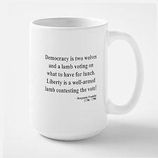 Benjamin Franklin 2 Large Mug