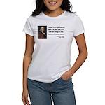 Benjamin Franklin 19 Women's T-Shirt