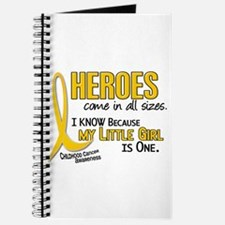 Heroes All Sizes 1 (Little Girl) Journal