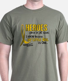 Heroes All Sizes 1 (Little Girl) T-Shirt