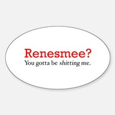 Renesmee Oval Decal