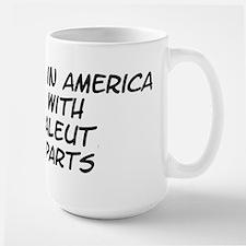 Aleut Parts Large Mug