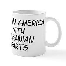 Albanian Parts Mug