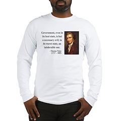 Thomas Paine 2 Long Sleeve T-Shirt