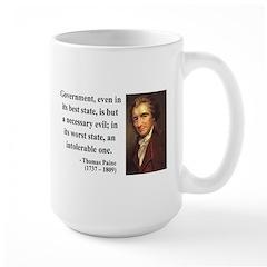 Thomas Paine 2 Large Mug