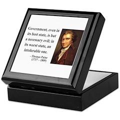 Thomas Paine 2 Keepsake Box