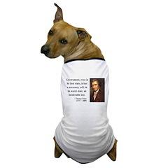 Thomas Paine 2 Dog T-Shirt