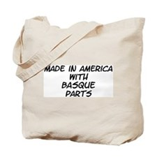 Basque Parts Tote Bag