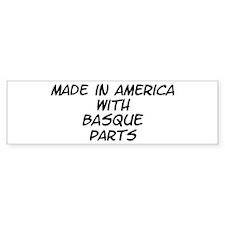 Basque Parts Bumper Sticker (10 pk)
