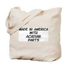 Acadian Parts Tote Bag