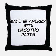 Basotho Parts Throw Pillow