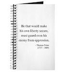 Thomas Paine 3 Journal