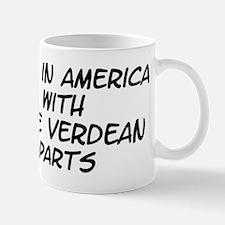 Cape Verdean Parts Small Small Mug