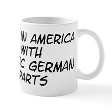 Baltic German Parts Mug