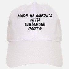 Bahamian Parts Baseball Baseball Cap