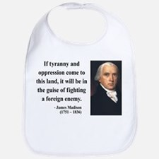 James Madison 2 Bib