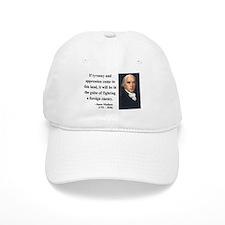 James Madison 2 Baseball Cap