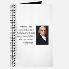 James Madison 2 Journal