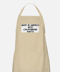 Californian Parts BBQ Apron