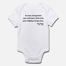 James Madison 2 Infant Bodysuit
