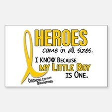 Heroes All Sizes 1 (Little Boy) Decal
