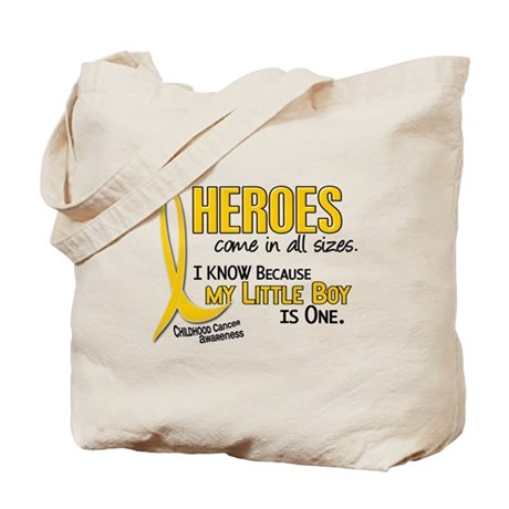 Heroes All Sizes 1 (Little Boy) Tote Bag