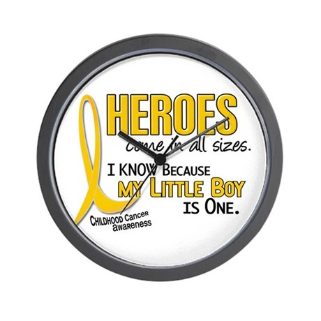 Heroes All Sizes 1 (Little Boy) Wall Clock