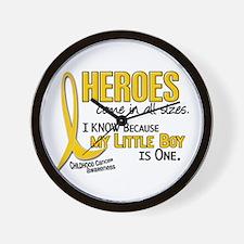 Heroes All Sizes 1 (Little Boy) Wall Clock