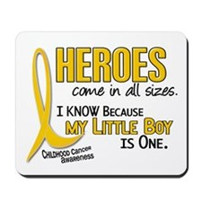 Heroes All Sizes 1 (Little Boy) Mousepad