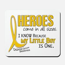 Heroes All Sizes 1 (Little Boy) Mousepad