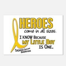 Heroes All Sizes 1 (Little Boy) Postcards (Package