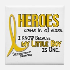 Heroes All Sizes 1 (Little Boy) Tile Coaster