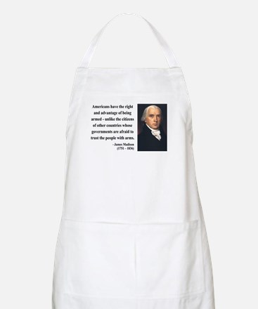 James Madison 6 BBQ Apron