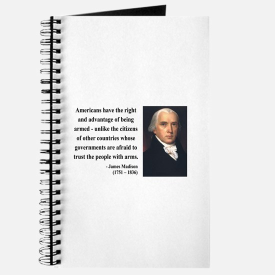James Madison 6 Journal