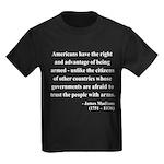 James Madison 6 Kids Dark T-Shirt
