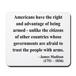 James Madison 6 Mousepad